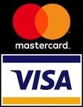 Bequeme Bezahlung mit VISA oder Mastercard