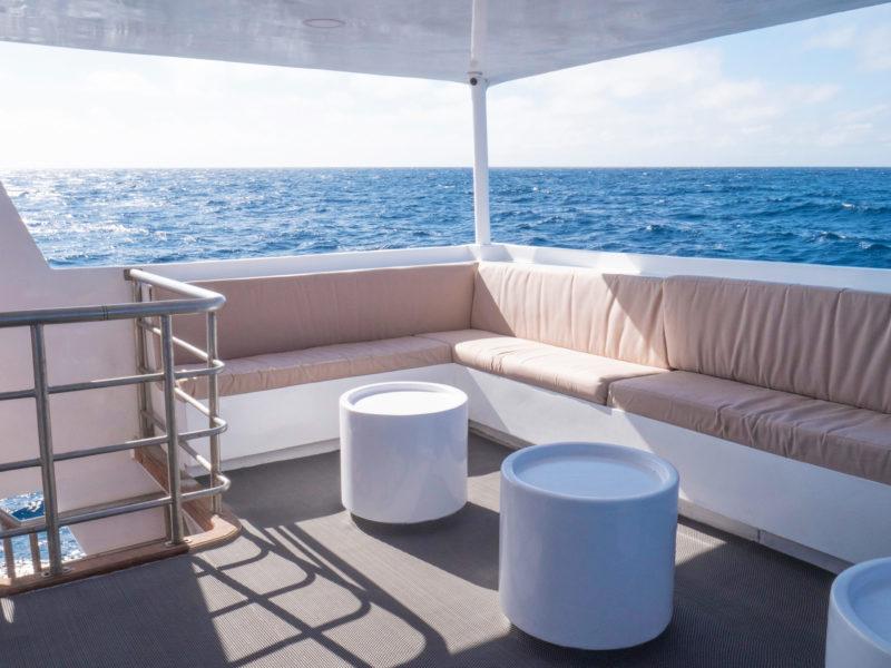 Außen Lounge Aqua