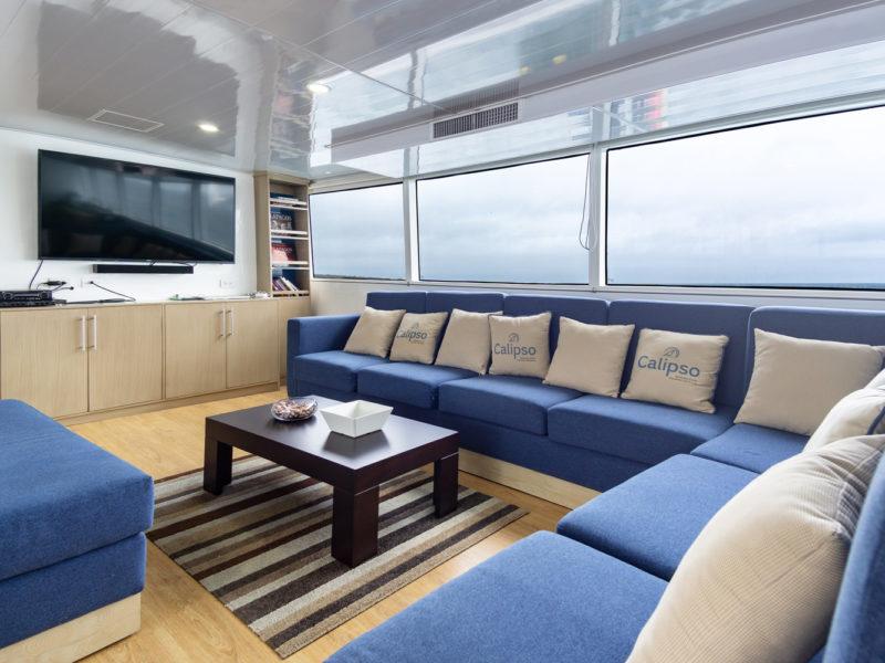 Galapagos-Kreuzfahrt Calipso Lounge